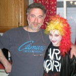Me and Angela a few Halloweens ago