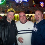 Tony D, Engels Gualdani and Dennis Ross at Corby's in South Bend Indiana